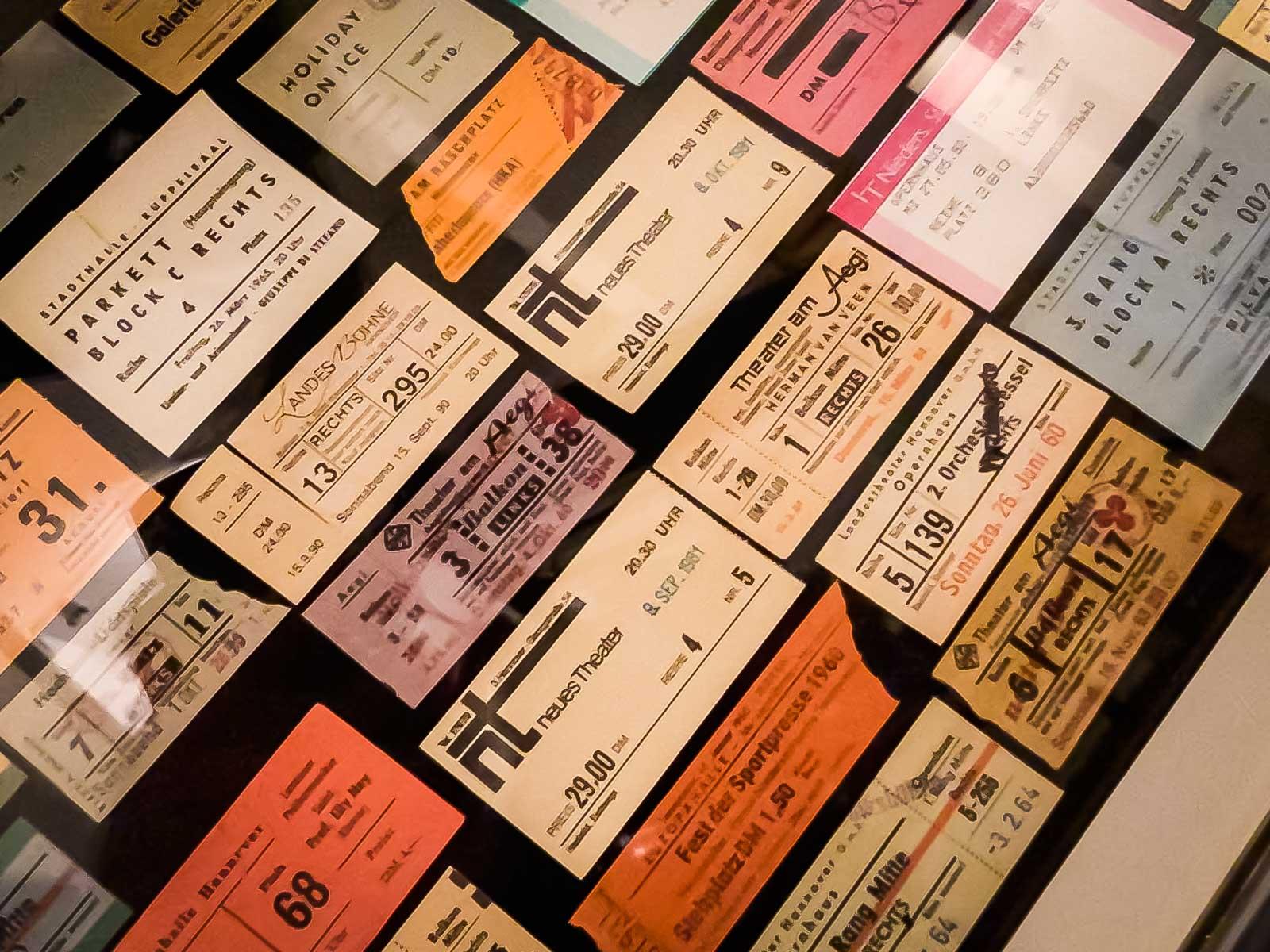 Eintrittskarten