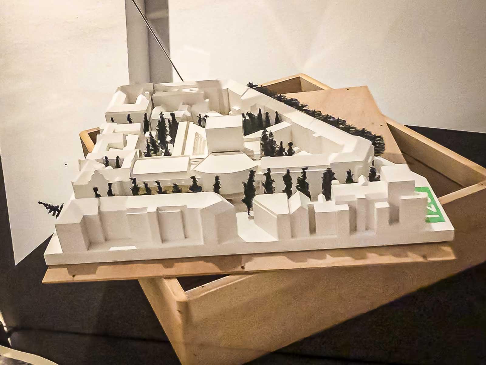 Schauspielhaus-Architekturmodell