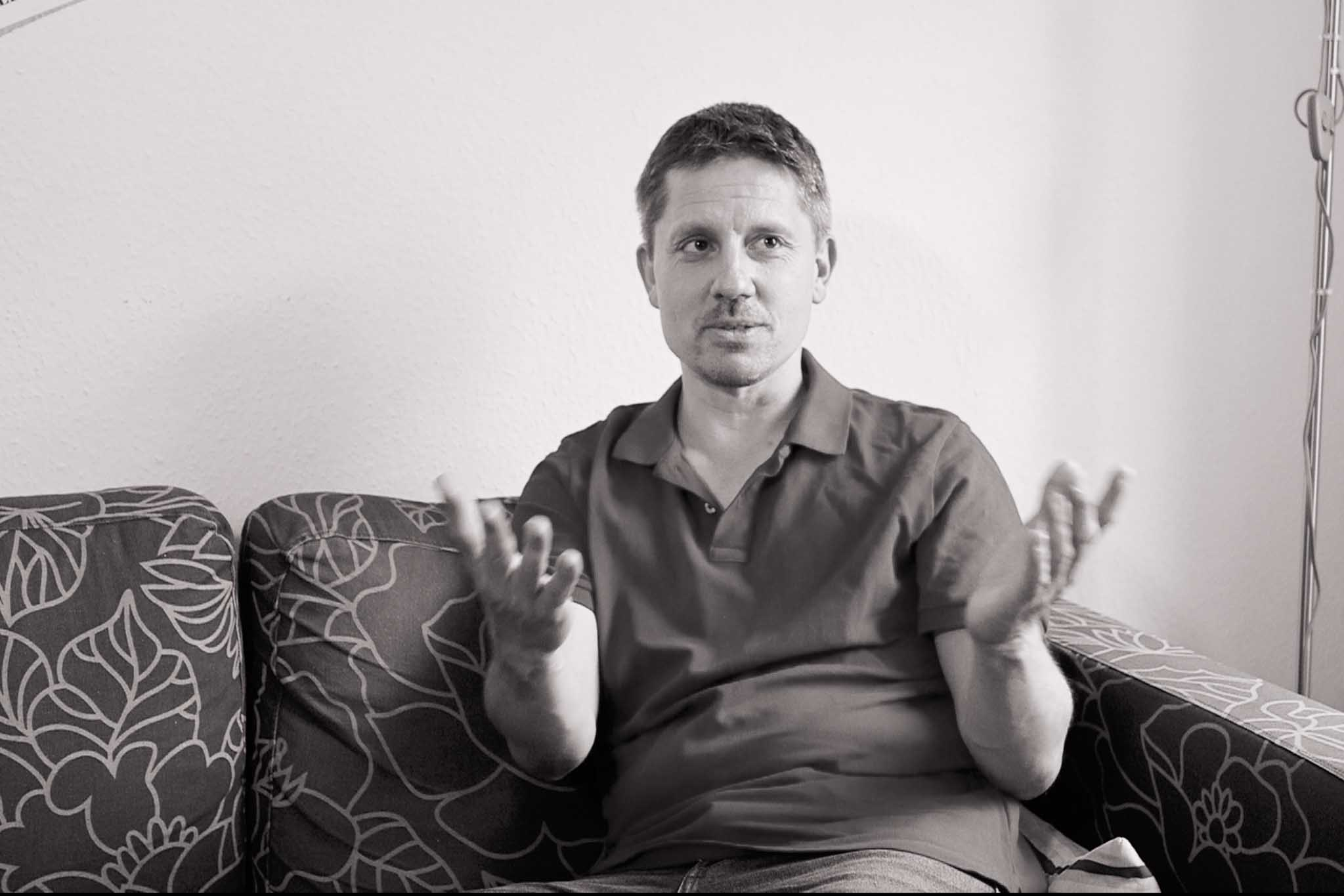 Matthias im Interview