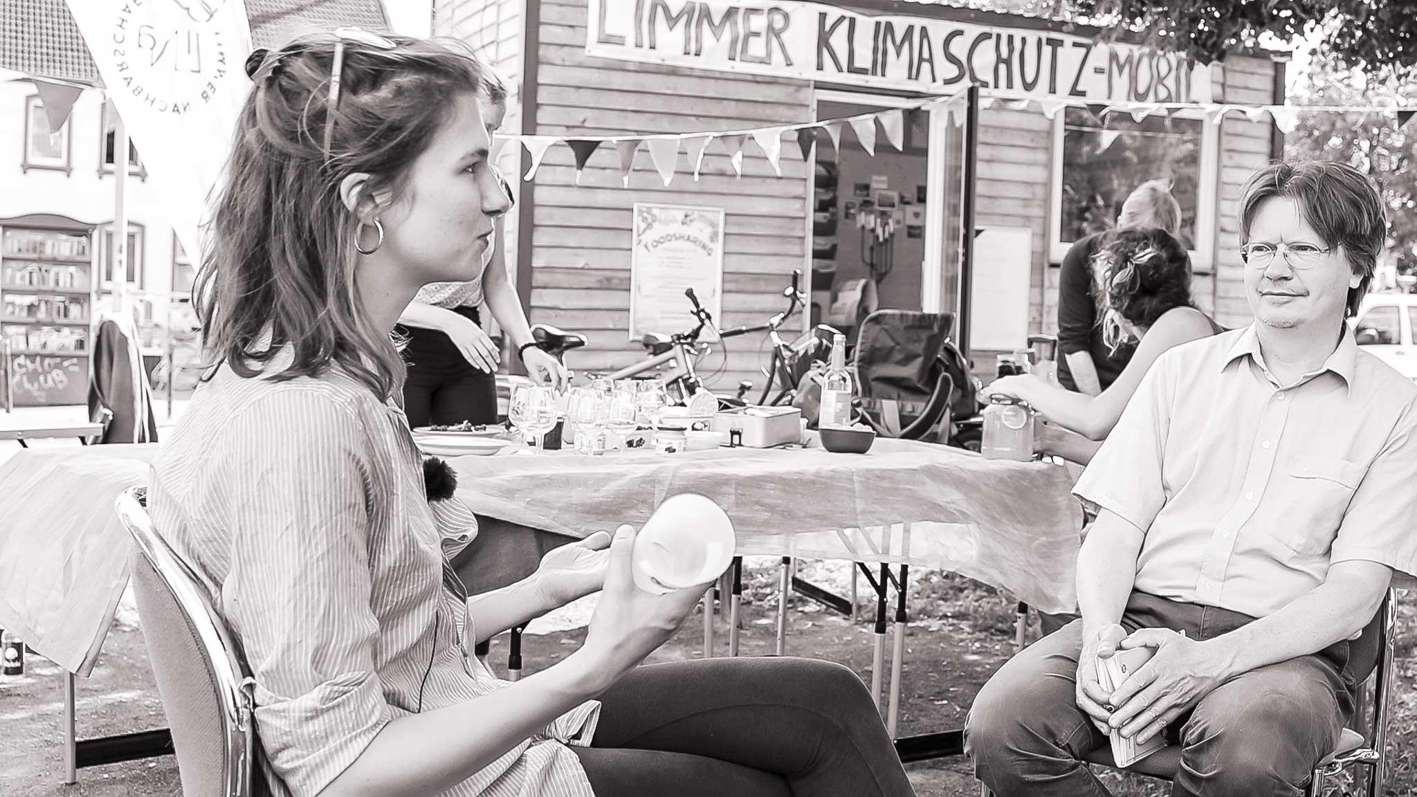 Shino und Burkhard im Interview